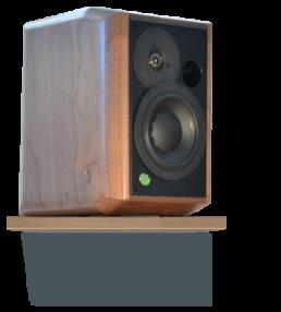 monitor Pro-gamme-massif-face trois-quart-enceinte acoustique active haut de gamme