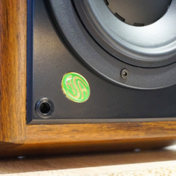 Paire Enceintes ASA Monitor Pro bois massif ultra haute fidelite